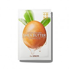 [the SAEM] Natural Shea Butter Mask Sheet