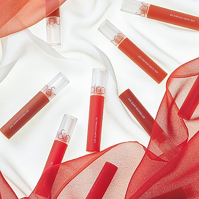 [rom&nd] SEE-THROUGH MATTE TINT 6.BRUN WRAP