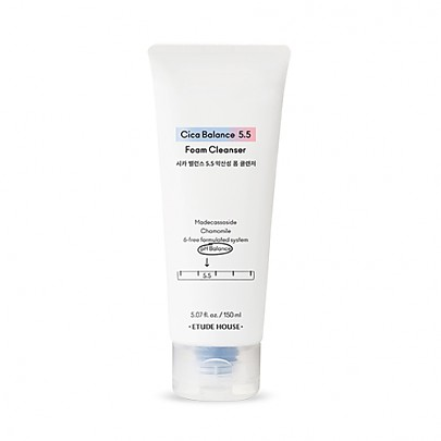 [Etude House]Cica Balance 5.5 Foam Cleanser 150ml