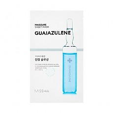 [Missha] Mascure Calming Solution Sheet Mask - Guaiazulene