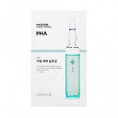 [Missha] Mascure Peeling Solution Sheet Mask - PHA