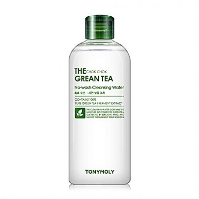 [Tonymoly] The Chok Chok Green Tea No-wash Cleansing Water 300ml