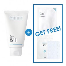 [Pyunkang Yul] ACNE Facial Cleanser 120ml + ACNE Spot Patch Super Thin + Acne Dressing Mask Pack