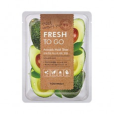 [Tonymoly] Fresh To Go Avocado Mask Sheet