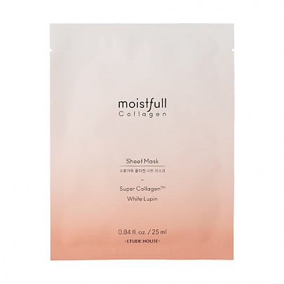 [Etude House]Moistfull Collagen Sheet Mask 25ml (2019 AD)