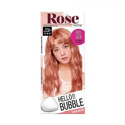[mise en scene] Hello Bubble 11G rose gold