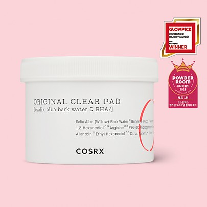 [COSRX] *New* One Step Original Clear Pads 70ea
