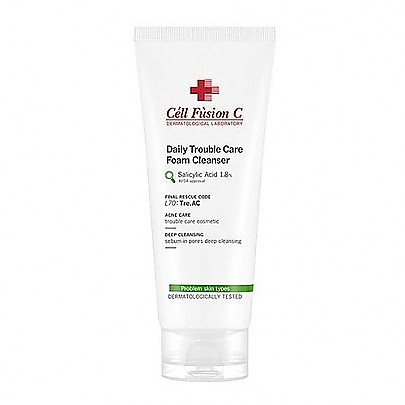 [Cell Fusion C] Tre.AC Daily Trouble Care Foam Cleanser 130ml