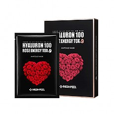 [MEDI-PEEL] Hyaluron 100 Rose Energy Tox Mask (10ea)