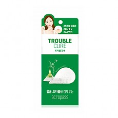 [Acropass] Trouble Cure (skin cleanser 6ea+trouble cure 6 patches)