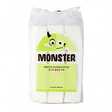 [Etude House] Monster Cleansing Cotton (408pcs)