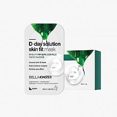 [BELLAMONSTER] D-day Solution skin fit mask(1ea)