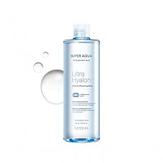 [Missha] Super Aqua Ultra Hyalron Micellar Cleansing Water 500ml