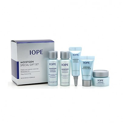 [IOPE] Moistgen Skin Hydration Special Gift Set Sample Kit