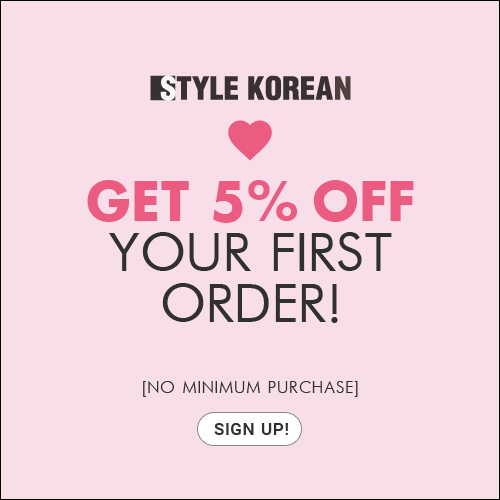get 5% off your first order